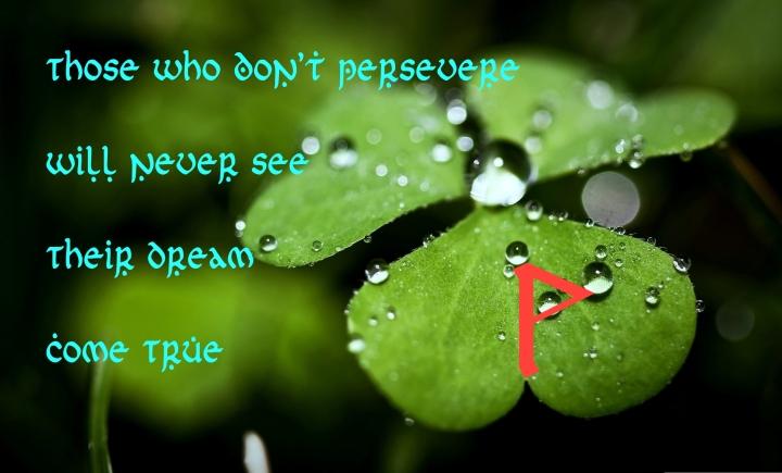 Four-Leaf-Perseverance-Wunjo
