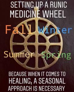 Runic Medicine Wheel